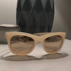 Cream Jcrew Sunglasses